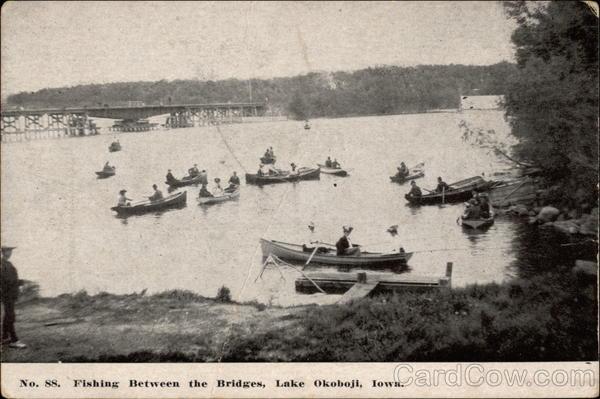 Fishing between the bridges lake okoboji ia for Lake okoboji fishing