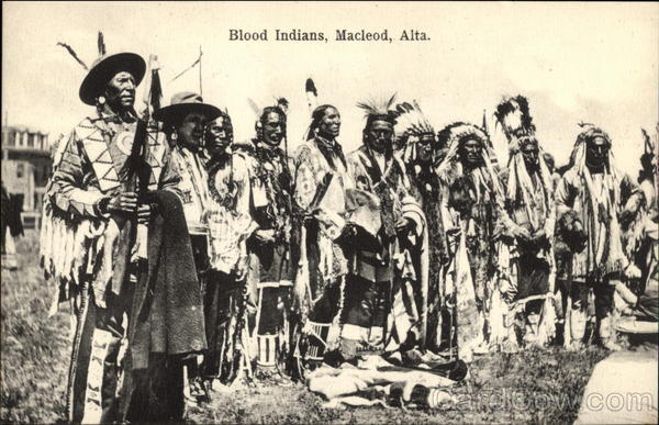 Blood Indians Macleod Canada Alberta