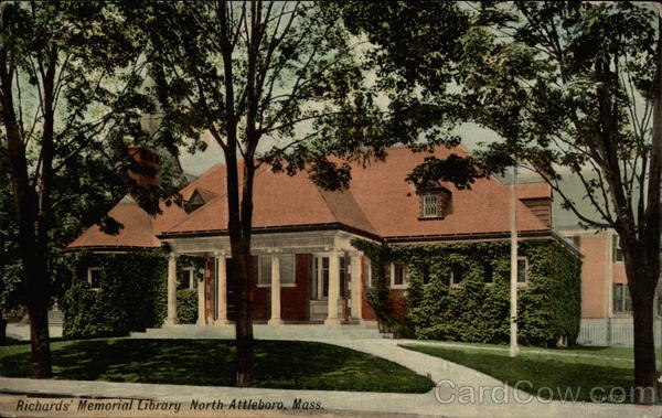 Richards' Memorial Library North Attleboro Massachusetts