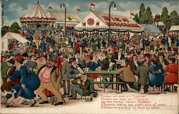 Trinken Wir - We Drink, Octoberfest