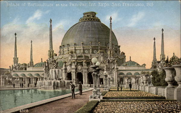 Palace of Horticulture at the Pan-Pac, Int. Expo. San Francisco, 1915 California