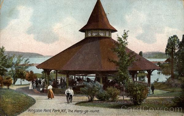 Kingston Point Park, The Merry-go-round New York