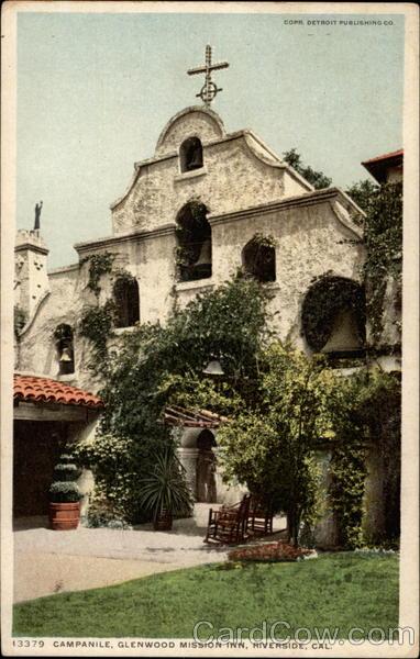 Campanile, Glenwood Mission Inn Riverside California