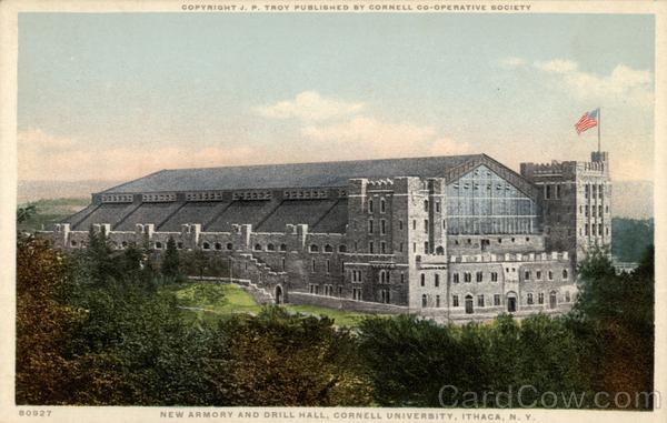 New Armory and Drill Hall, Cornell University Ithaca New York