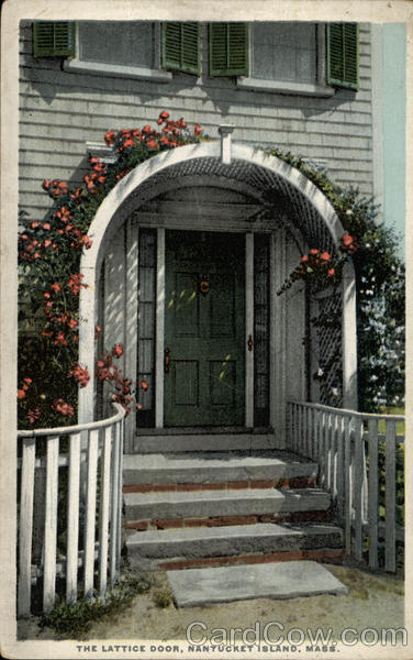 The Lattice Door Nantucket Massachusetts