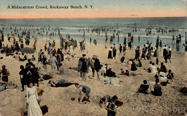A Midsummer Crowd Rockaway New York