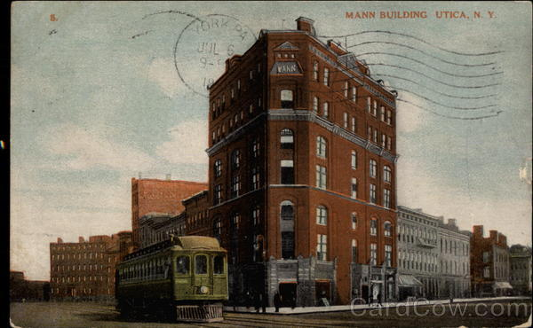 Mann Building Utica New York