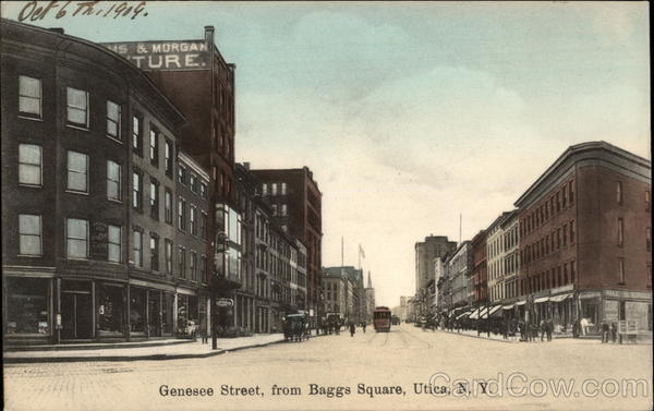 Genesee Street, from Baggs Square Utica New York