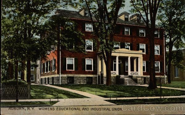 Womens Educational and Industrial Union Auburn New York