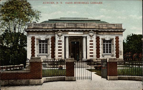 Case Memorial Library Auburn New York