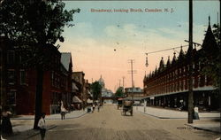 Broadway, looking North, 200 Block