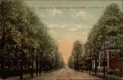 Broad Ave., North from 26th Street