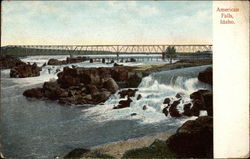 View of Bridge and American Falls