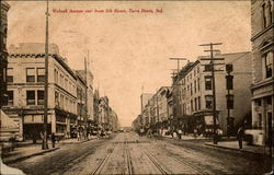 Wabash Avenue east from 5th Street
