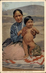 A Proud Navaho Mother