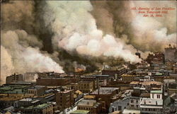 Burning of San Francisco from Telegraph Hill, Apr. 18, 1906