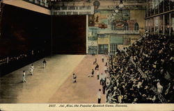 Jai Alai, the Popular Spanish Game