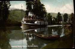 Steamer Idaho Leaving Saint Joe River