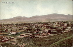 View of Pocatello, Idaho