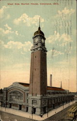 West Side Market House Postcard