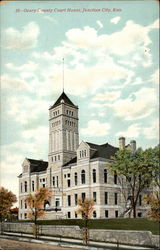 Geary County Court House Postcard