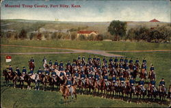 Mounted Troup Cavalry