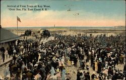 Arrival of First Train at Key West