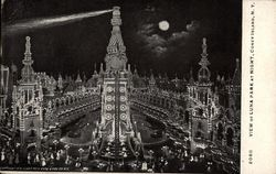 View of Luna Park at Night