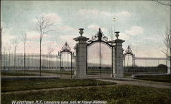 Cemetery Gate, George W. Flower Memorial