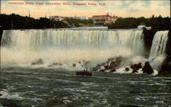 American Falls from Canadian Side