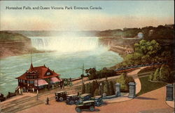 Horseshoe Falls and Queen Victoria Park Entrance