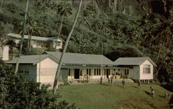 Pitcairn Island's government school South Pacific