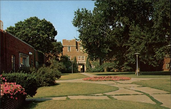 View of the Quadrangle at the University of Iowa Iowa City