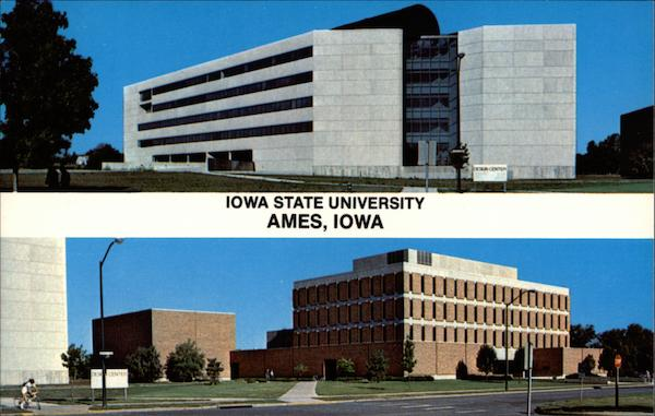 College of Design Building and George R. Town Engineering Building, Iowa State University Ames