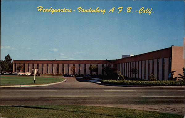 Headquarters Building, Aerospace Support Group Vendenberg Air Force Base California