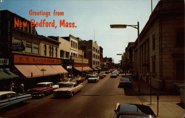 Greetings from New Bedford, Mass Massachusetts
