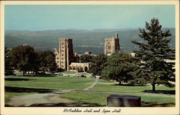 McFadden Hall and Lyon Hall - Cornell University