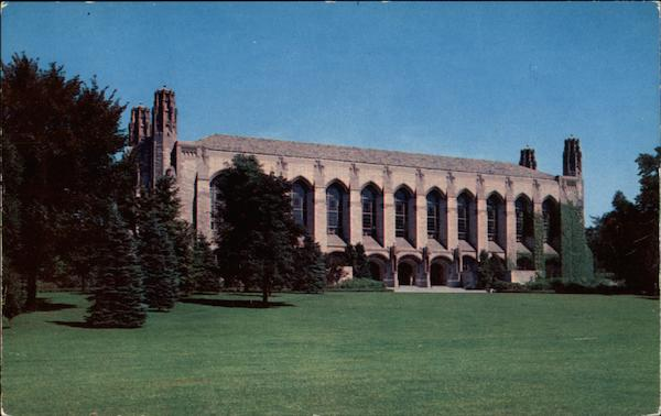 Deering Library, Northwestern University Evanston Illinois