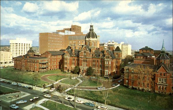 Overall View of the Johns Hopkins Medical Institutions Baltimore Maryland