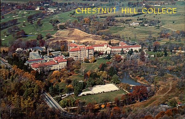 Chestnut Hill College, Mount St. Joseph Academy and Convent Philadelphia Pennsylvania