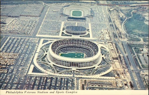 Philadelphia Veterans Stadium And Sports Complex