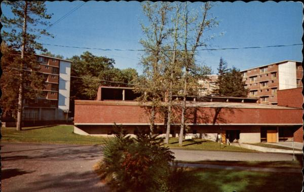 Prospect Hall Cafeteria - Plymouth State College New Hampshire