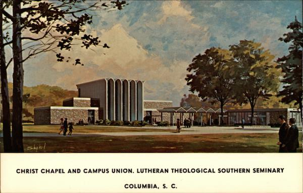 Christ Chapel and Campus Union, Lutheran Theological Southern seminary Columbia South Carolina