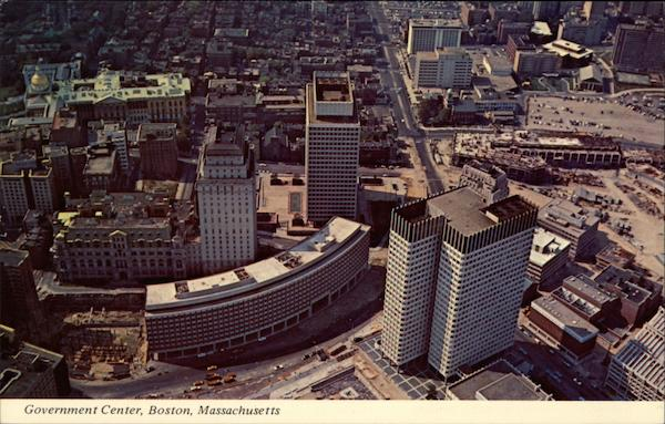 View of Government Center, Boston, Massachusetts