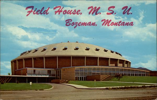 Field house montana state university bozeman mt for Cost to build a house in bozeman mt
