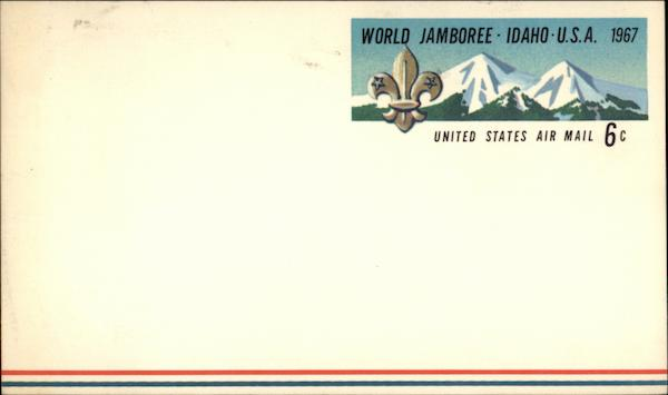 1967 World Jamboree Idaho Boy Scouts