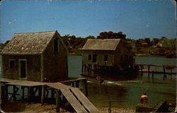 Old Fishing Shacks, Wellfleet