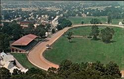 Fairfield County Race Track and Fairgrounds Postcard