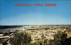 Nebraska - Iowa border