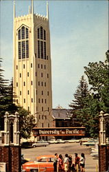 Burns Tower, University of Pacific